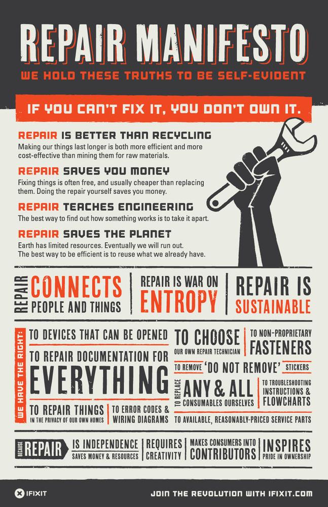 Ifixit self repair manifesto 900x1390
